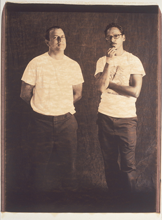 Jim Thiebaud And Tommy Guerrero 2, 20X24 Choclate Polaroid, SF