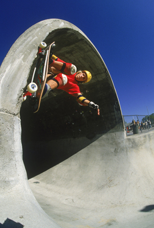 Chris Miller, Up The Pipe, Upland, CA